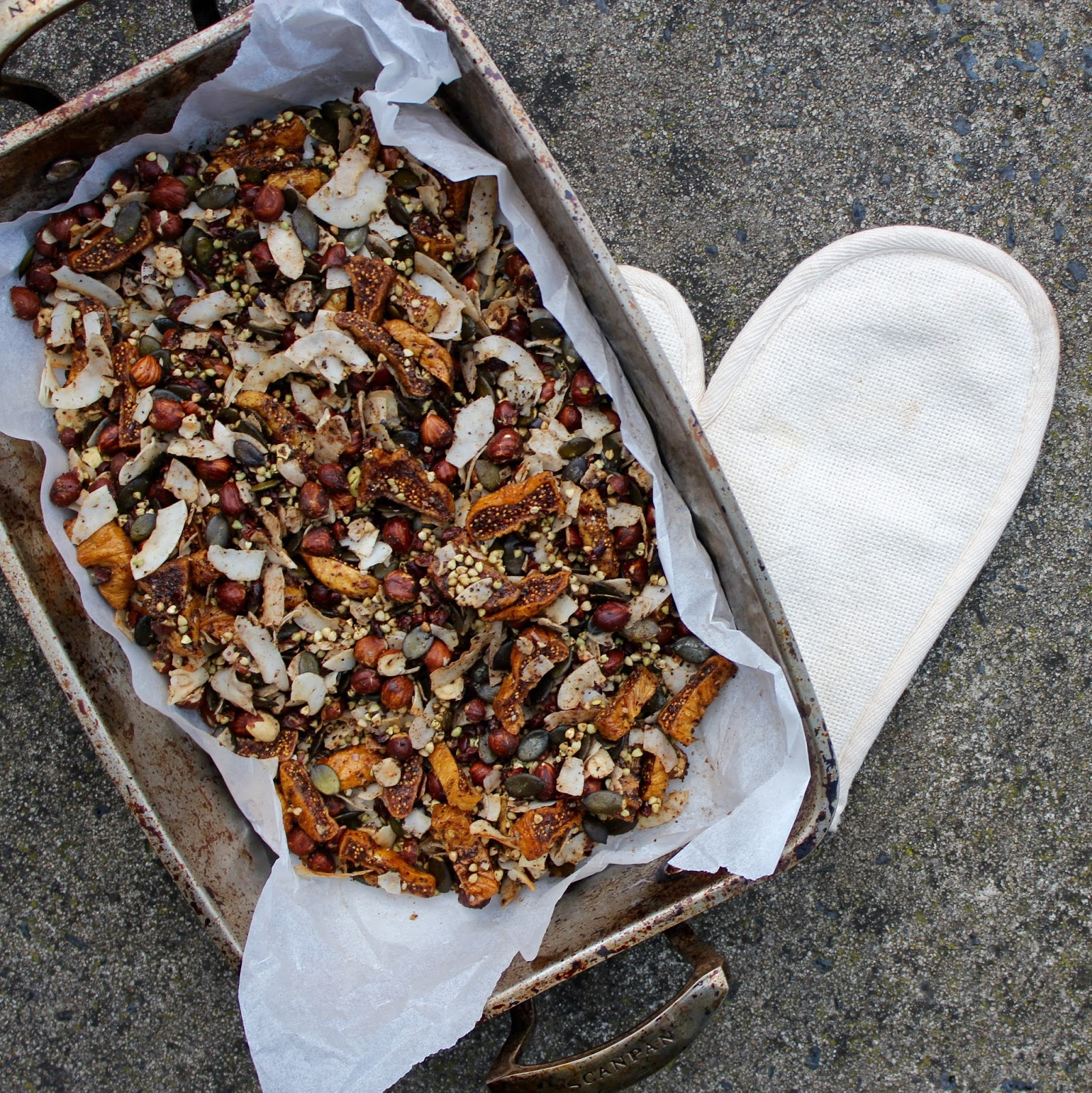 Fig and Hazelnut Granola