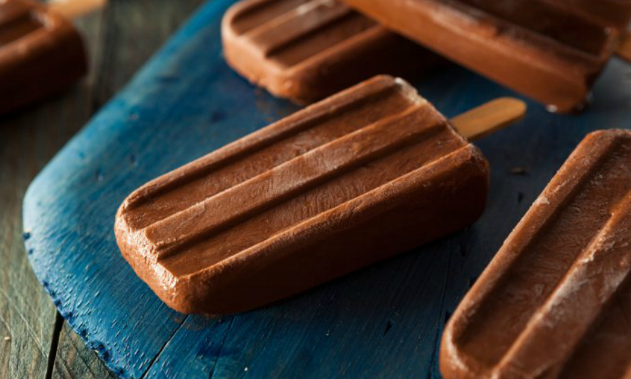 Vegan Chocolate Fudge Pops