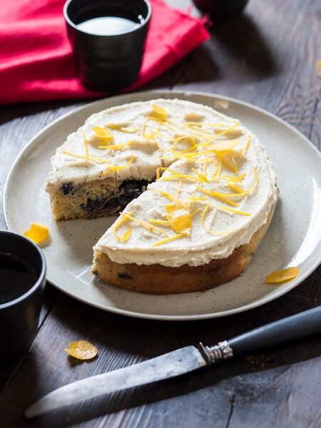 Lemon & Blueberry Cake