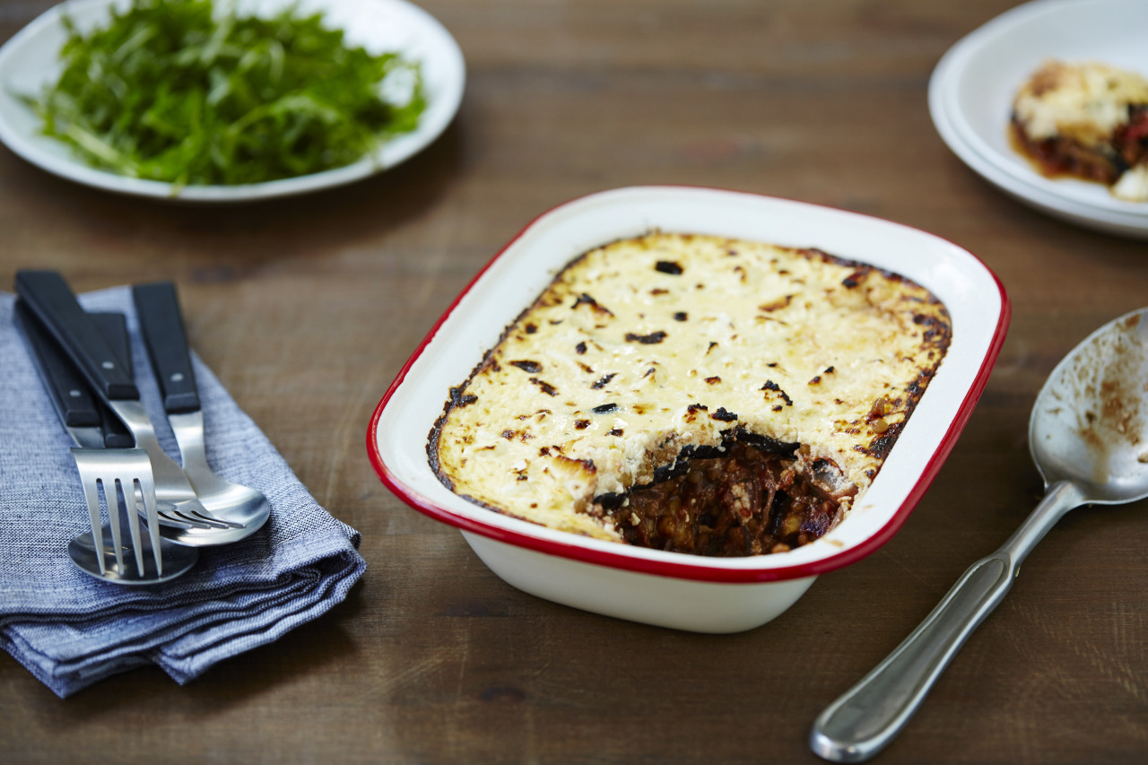 Winter Vegetable Moussaka