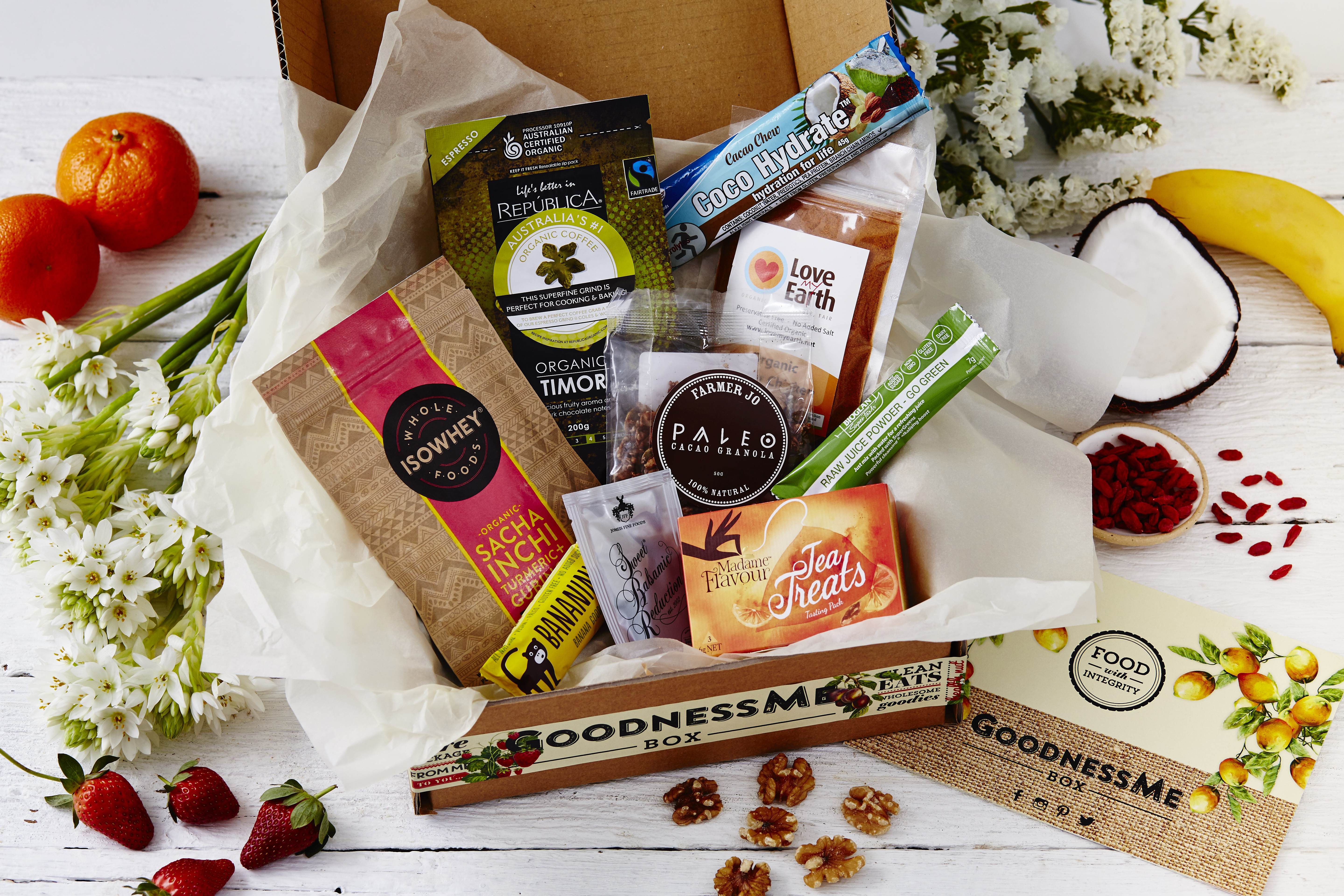 How we choose products for a GoodnessMe Box
