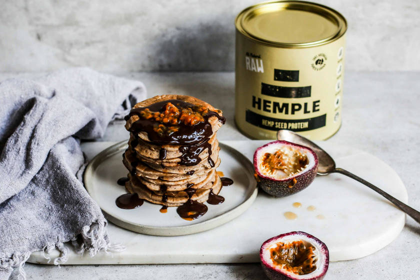 Why Hemp Is Good For Gut Health... And a Hemp Protein Pancake Recipe