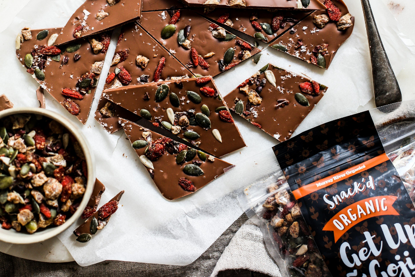 Vegan Dark Chocolate Bark Recipe