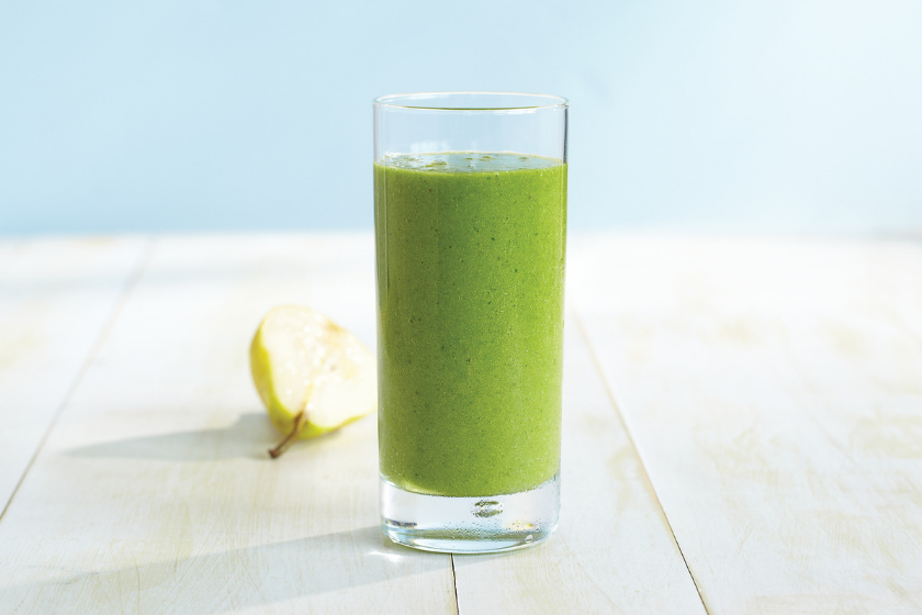 Kale and Pear Green Smoothie Recipe