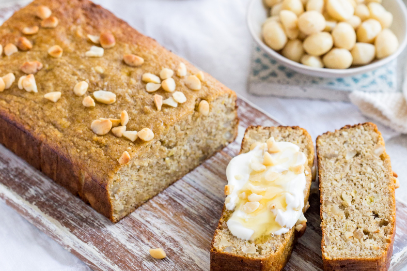 Sugar-Free Gut Friendly Banana Bread
