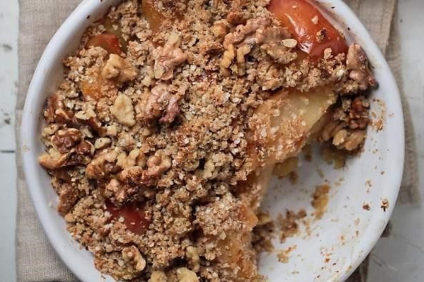 The Healthy Chef Apple Crumble